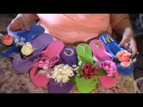 Do It Yourself How To Summer Sandle Wreath Project Dollar Tree