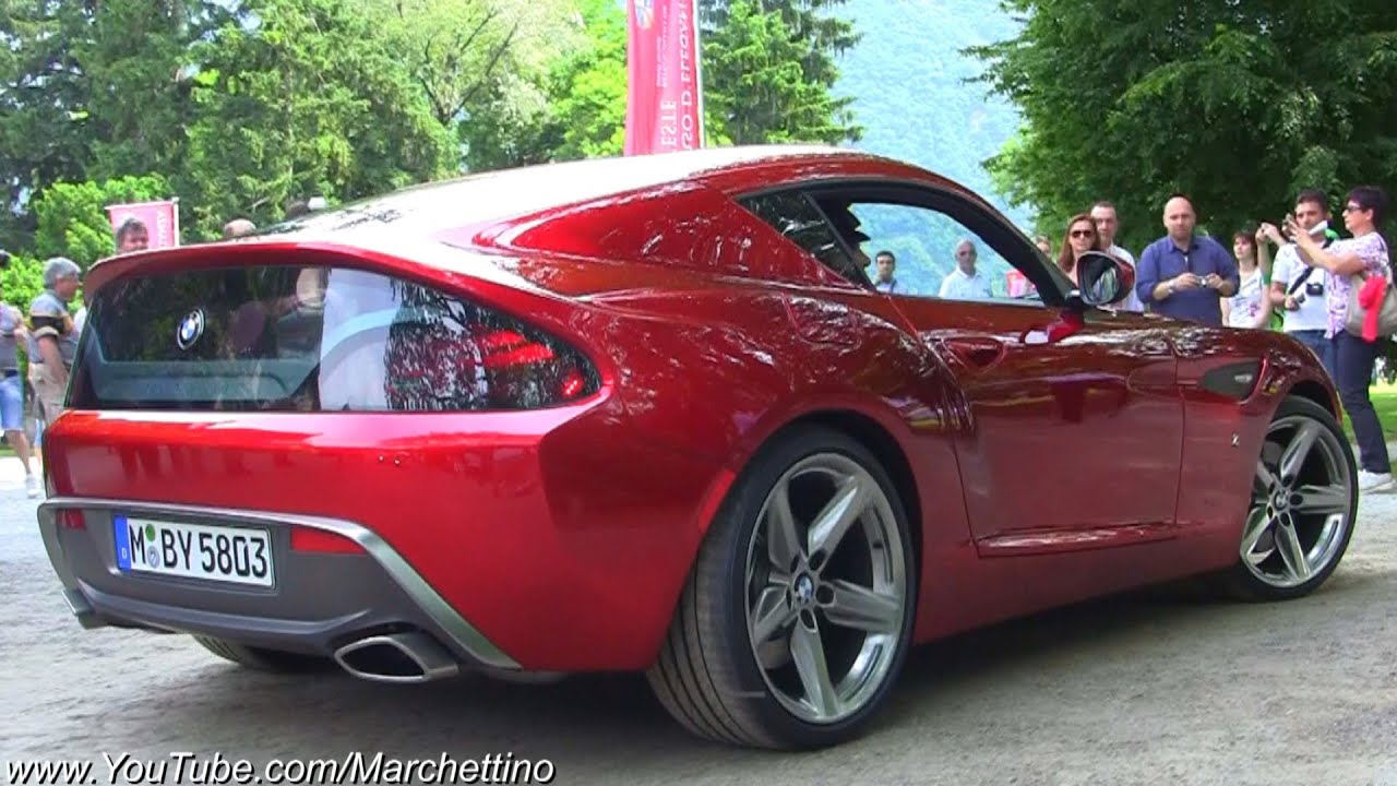 Bmw Zagato Coup 232 Sound World Debut Youtube