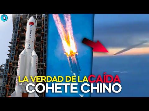 Así se vivió la caída del cohete chino: La verdad detrás de su impacto a la tierra.