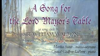 """A Song for the Lord Mayor"