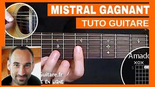 "Renaud ""Mistral Gagnant"" Tuto Guitare"