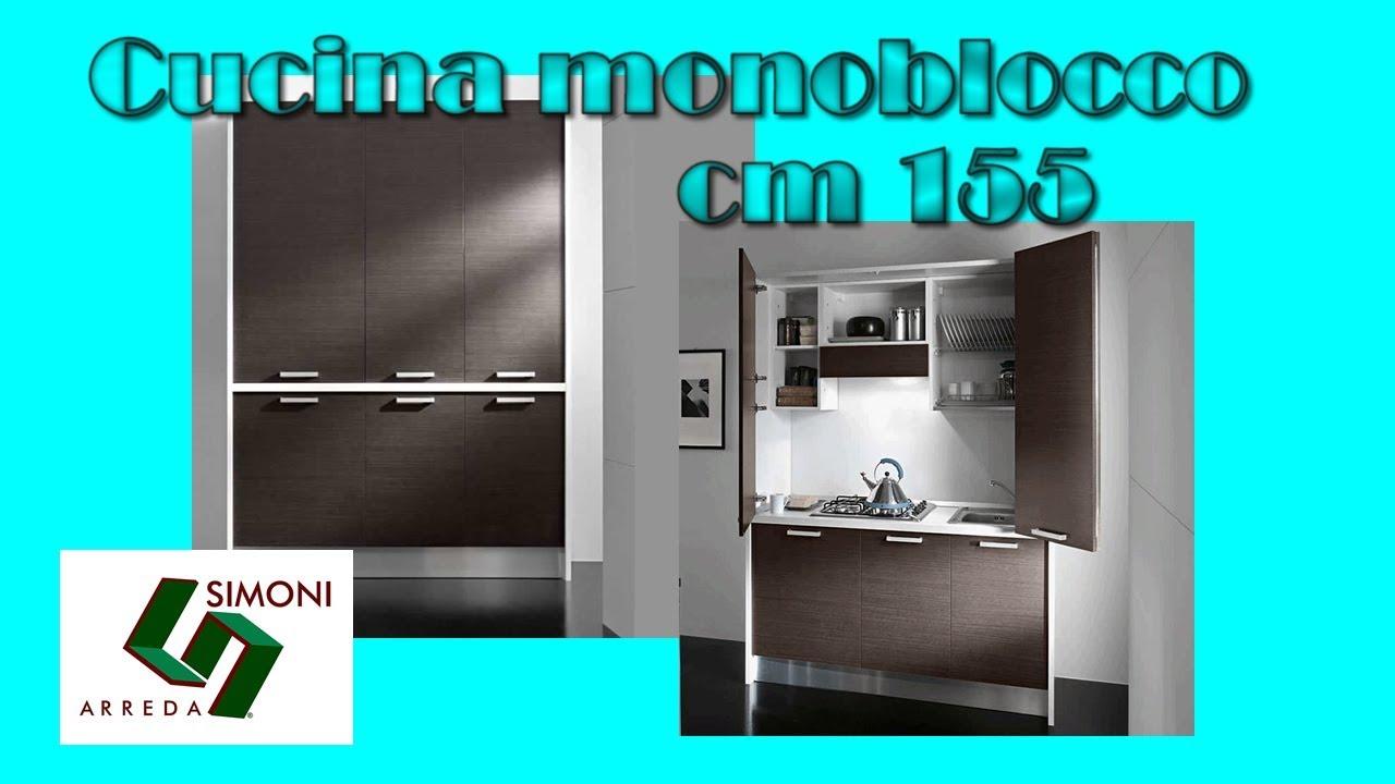 Mini Cucina da 155 cm per arredare il tuo Monolocale - YouTube