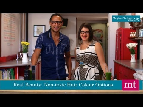 Non-Toxic Hair Colour Solutions | Meghan TV