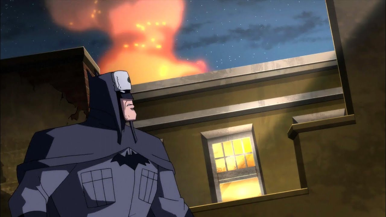 Russian Batman Blows Up A Museum Superman Red Son Hd Youtube