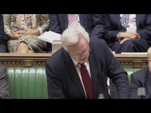 David Davis introduces the Second Reading of the EU (Notification of Withdrawal) Bill