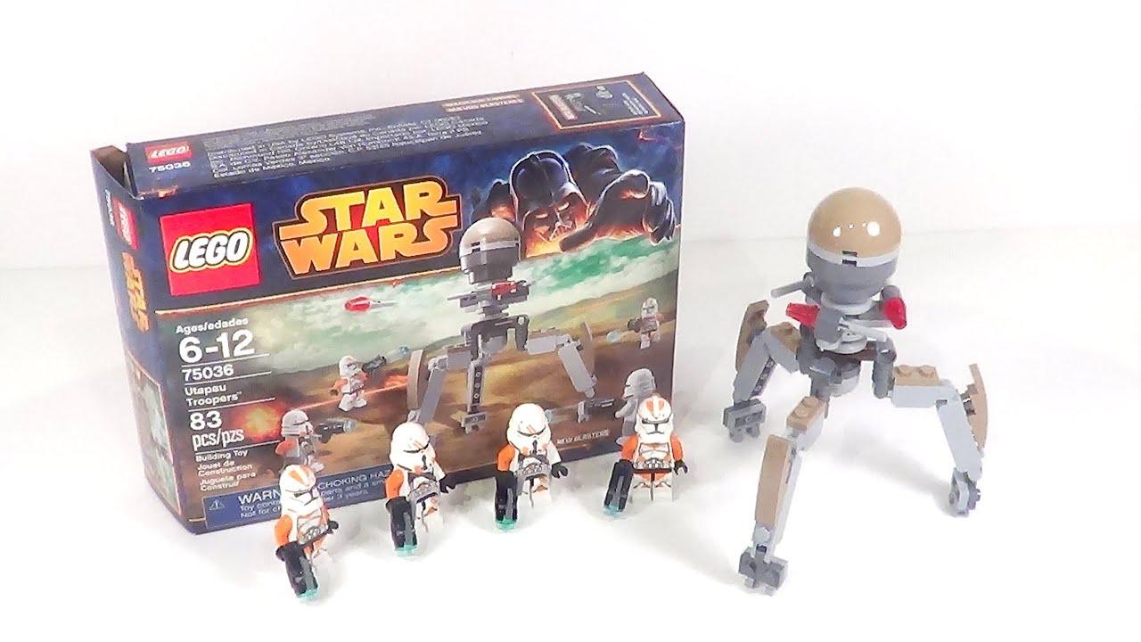 LEGO Star Wars 75036 Review: Utapau Troopers Battle Pack ...