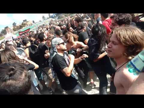 Mais de 40 mil pessoas assistiram Linkin Park, Slayer e Rob Zombie no palco Maximus