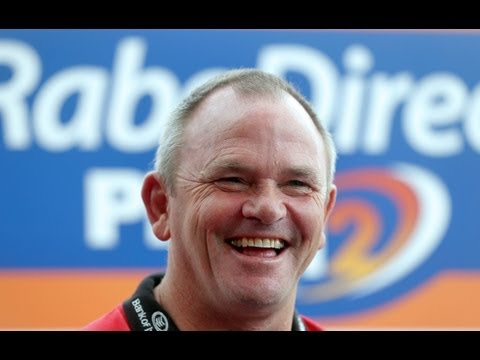 Know Your Coach - Ulster Rugby Head Coach Mark Anscombe