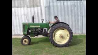 Rare 445 T John Deere Detroit Diesel TRACTOR driving in Argentina FOR SALE