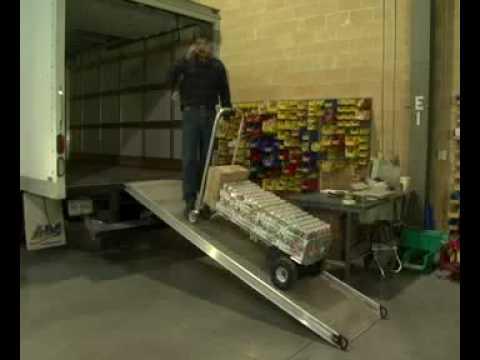 WESCO CobraPro Battery Powered Aluminum Convertible Hand Trucks