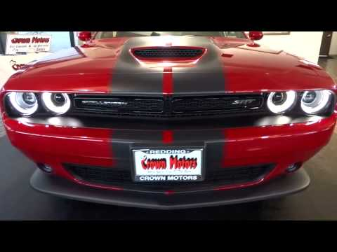 Red Bluff Dodge >> 2015 DODGE CHALLENGER Redding, Eureka, Red Bluff, Northern California, Sacramento, CA 15D0 - YouTube