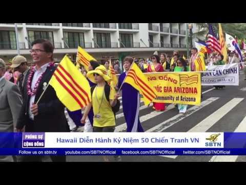 PHÓNG SỰ CỘNG ĐỒNG: Hawaii diễn hành kỷ niệm 50 năm Chiến Tranh VIỆT NAM