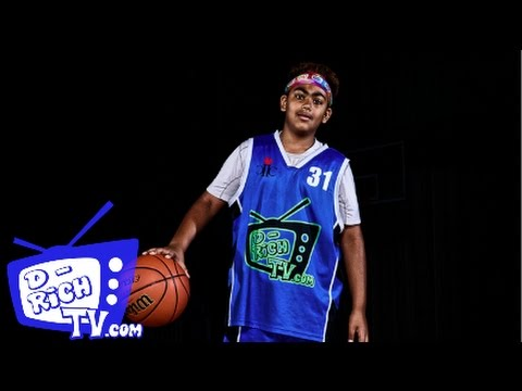 """Aryan Arora """"Gets BUCKETS"""" At The D-Rich TV Camp - YouTube"""