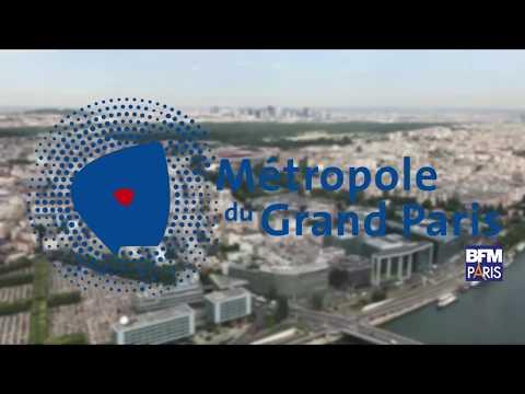 Reportage de BFM Paris sur la Métropole du Grand Paris