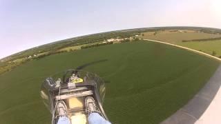 First SkyDock Pattern Flight