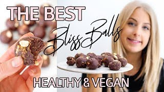 Peanut Butter & Almond Bliss Ball Recipe | Vegan, Gluten Free & Dairy Free | I Ate A Cricket!?