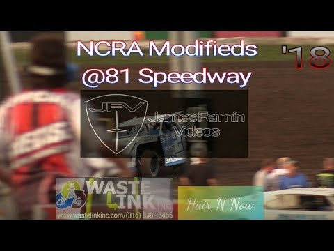 NCRA Modifieds #55, Heat 1, 81 Speedway, 09/15/18