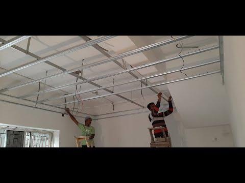 False Ceiling  का Framing कैसे करते है ? 16' X 13' Bedroom False Ceiling  का Framing कैसे करते है ?