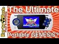AtGames Sega Genesis Ultimate Portable Game Player Unboxing and Review