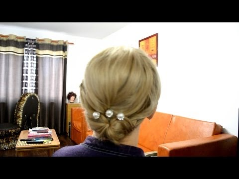 Coafura mireasa par mediu - Wedding hairstyles for medium long hair