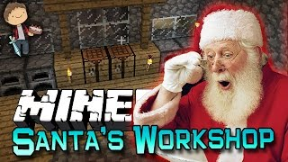 Minecraft: Santas Workshop Challenge! Saving Christmas!