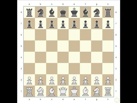 Как выиграть шахматную партию за 2 хода (Win chess game in 2 moves)