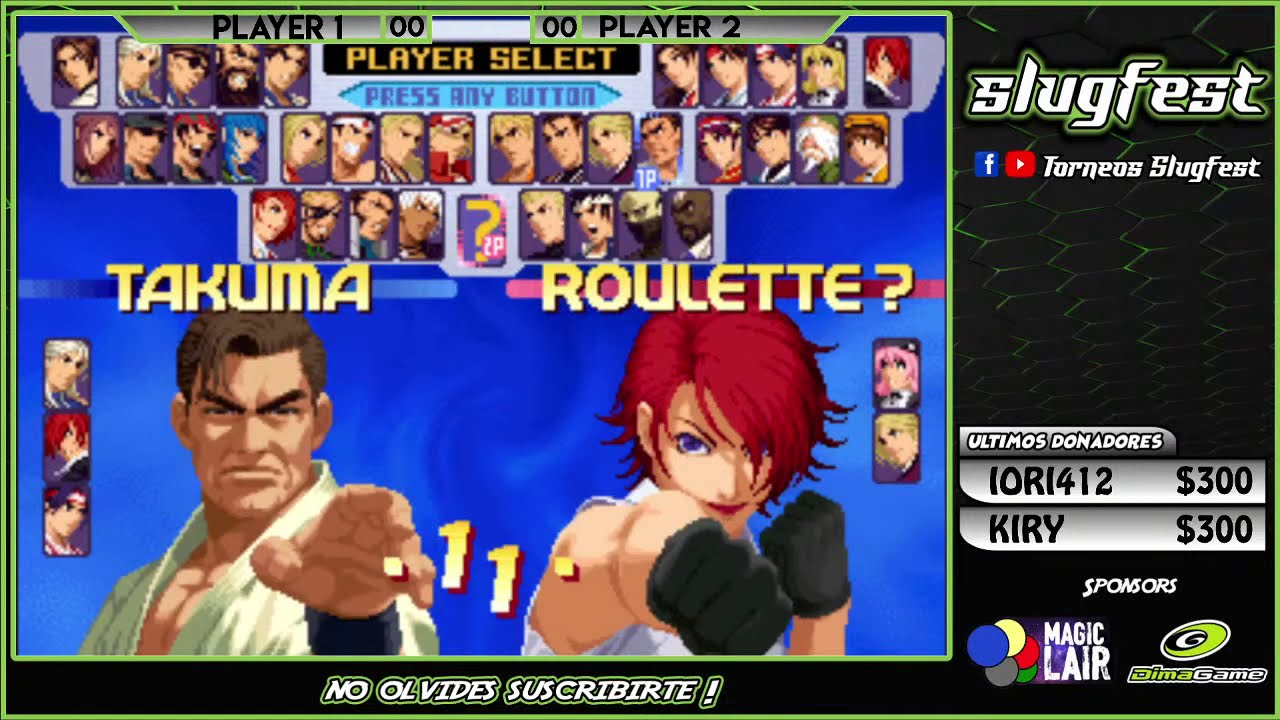 Torneo Slugfest The King of Fighters 2000 Online - Yzkof