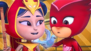 PJ Masks Episode | CLIPS | An Yu and Mystery Mountain | Cartoons for Kids