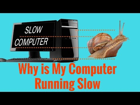Why is Your Computer Running Slow