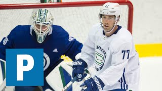 Canucks training camp: Brad Hunt thrilled to come home to play | The Province