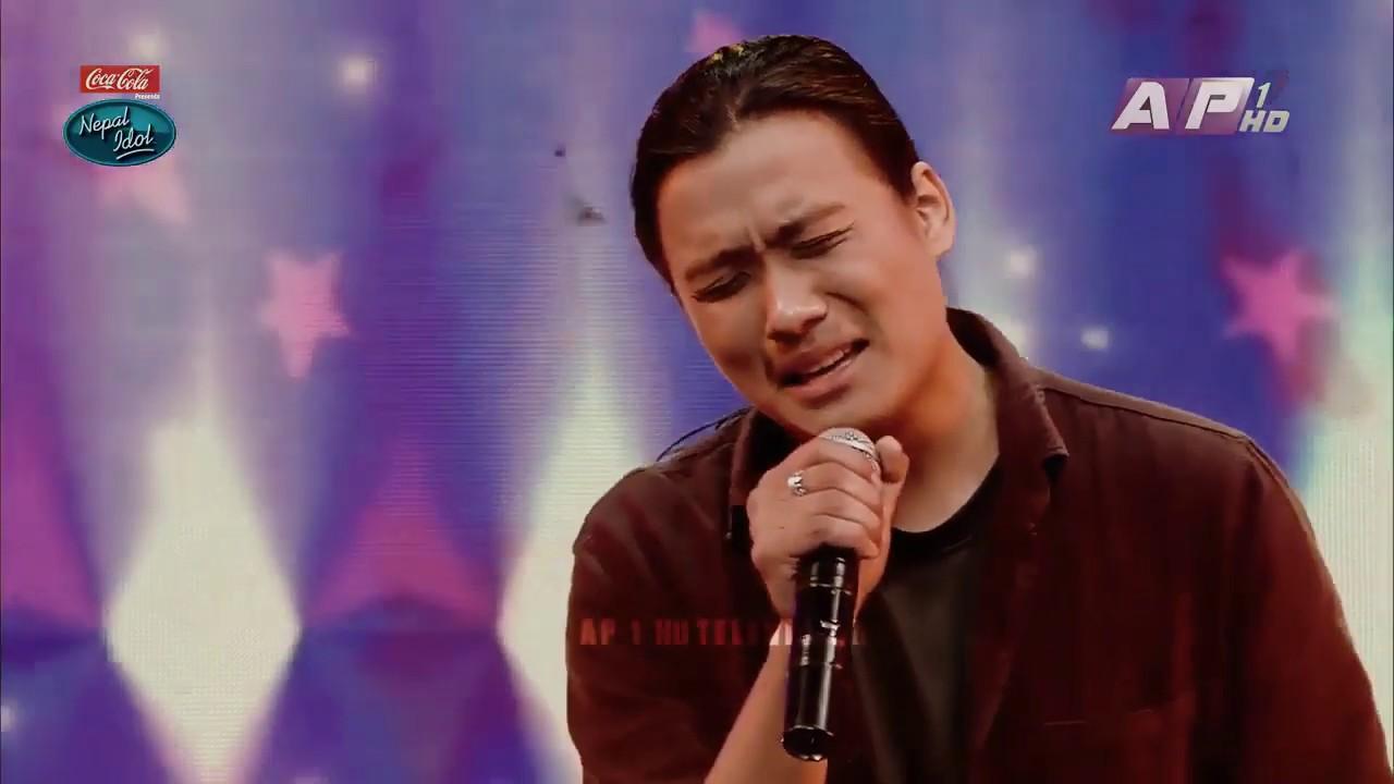 """Download Kevin Glan Tamang """"Timro Sparshale"""" Nepal idol season - 3 - 2019 - Episode - 18"""
