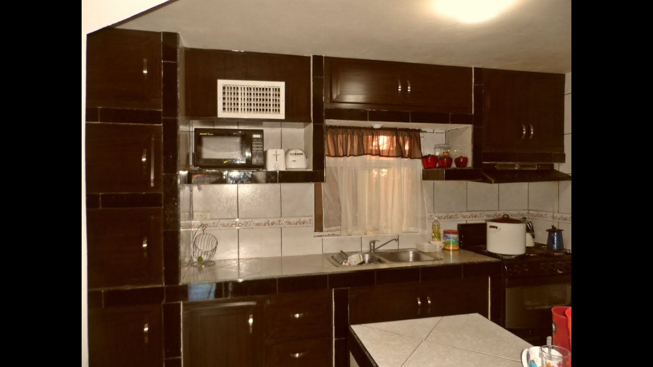 Puertas para cocina con interior de concreto muroblock for Cocinas de concreto