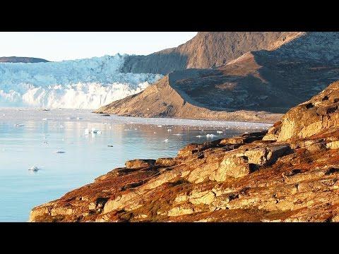 Grønland - Diskobugten, Glacier Lodge Eqi og gigantiske isbjerge