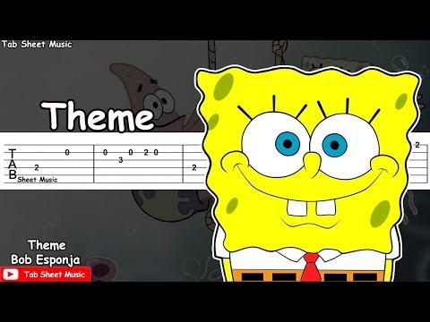 SpongeBob (Bob Esponja) - Theme Guitar Tutorial