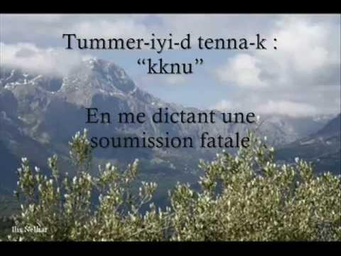 Idir, Muqleɣ, avec tradction