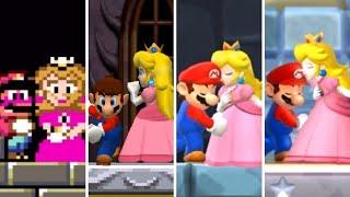Evolution of Peach Kissing Mario (1990-2020)