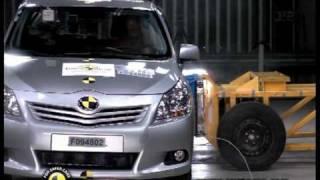 Euro NCAP | Toyota Corolla Verso | 2010 | Crash test
