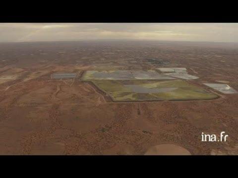 Australie : compositions picturales des mines d'uranium d'Olympic Dam