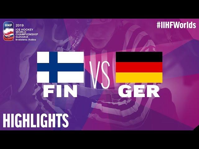8f9c02ce7c152 Video: Fínsko viedlo 1:0 aj 2:1, ale zápas proti Nemecku na MS v hokeji  2019 nakoniec prehralo - Webnoviny.sk
