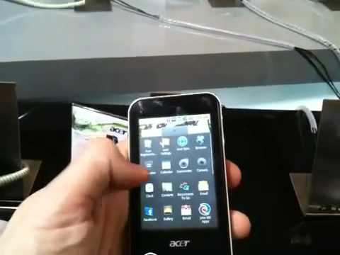 Acer beTouch E400 Android phone -Free Software Downloading
