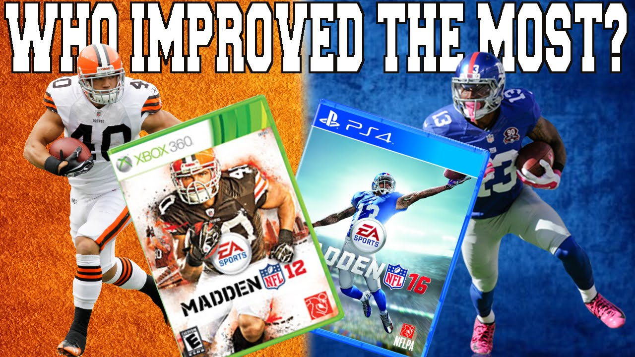 LOOKING BACK AT MADDEN 12 PLAYER RATINGS