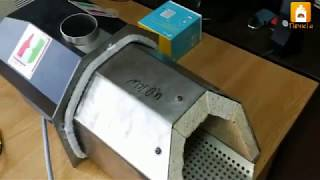Обзор пеллетной горелки Hotta Cyberia Pro 40 кВт