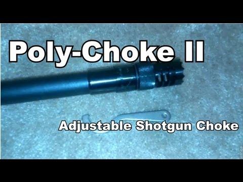 Poly-Choke II - Adjustable shotgun choke