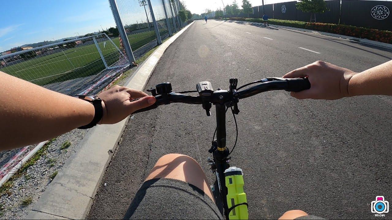Beginner Biking with Decathlon BTWIN TILT 100 20\