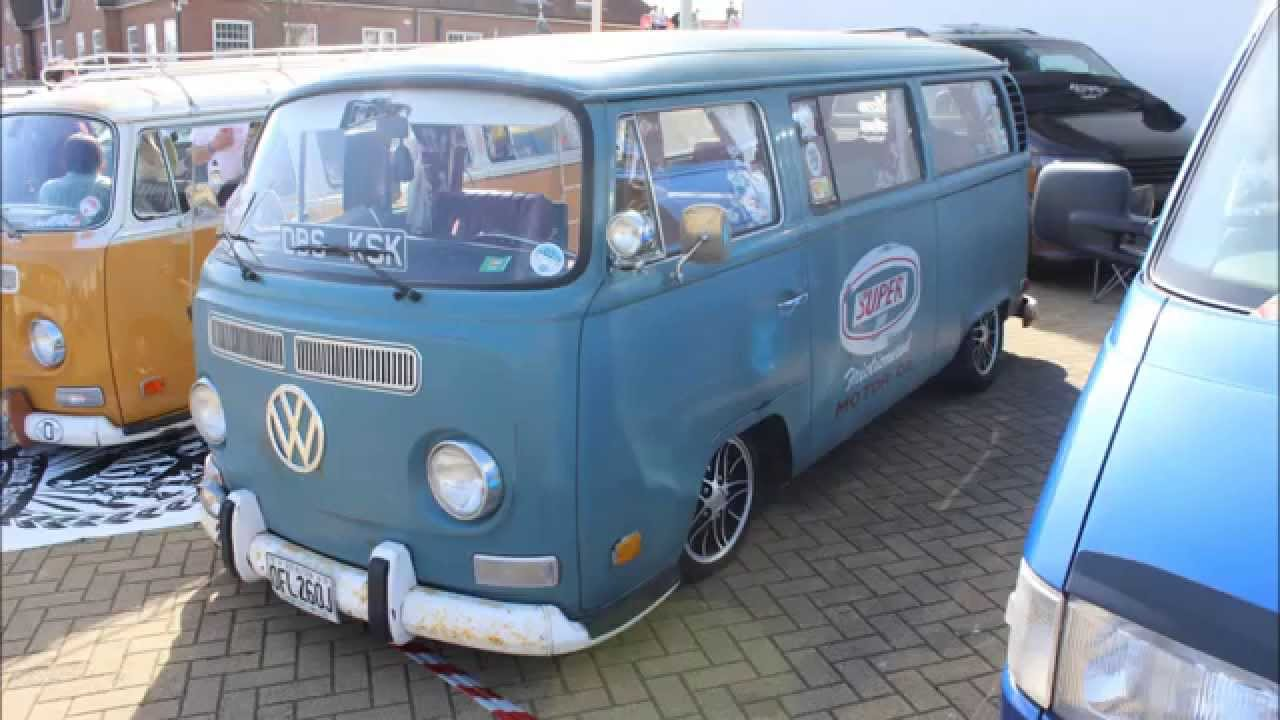 Vw Event 2014 VolksWorld Vw camper van T2 Collection - YouTube