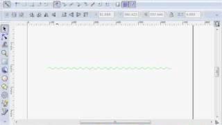 Inkscape(インクスケープ)で波線を作る
