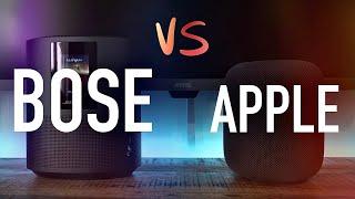 HomePod vs. bose Home Speaker …