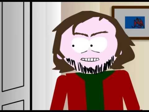 The Shining, Here's Johnny animated