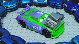 Cars 3 : H.J. Hollis & Powerful Engine! - StopMotion