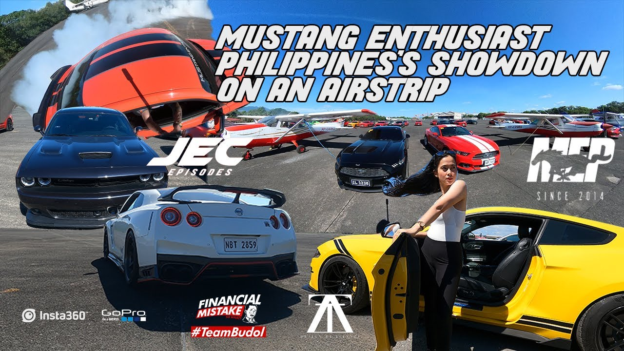 Mustang Enthusiast Philippines's showdown on an airstrip-Jec Episodes